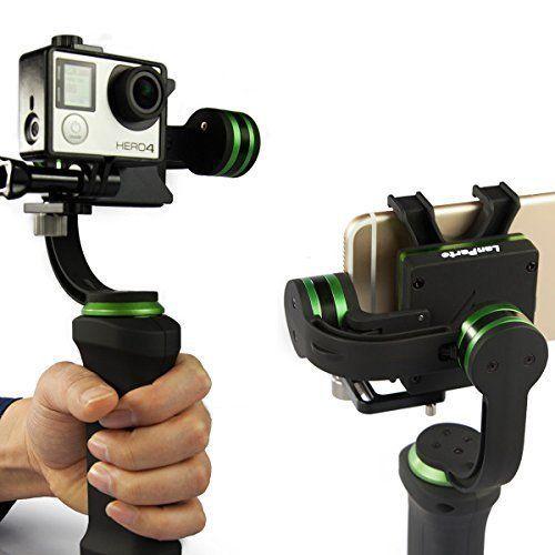 gimbals para cámaras deportivas lanparte