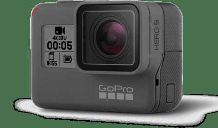 mejores cámaras deportivas 4K gopro hero 5