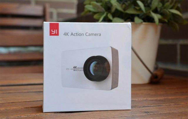 yi 4k action camera caja