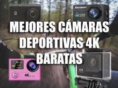 mejores cámaras deportivas 4k baratas