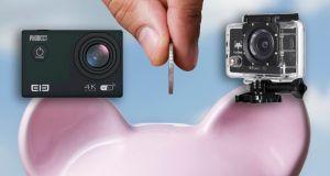 cámaras deportivas baratas en gearbest