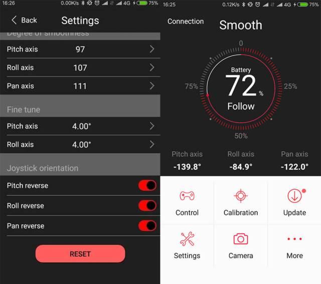 zhiyun smooth q app