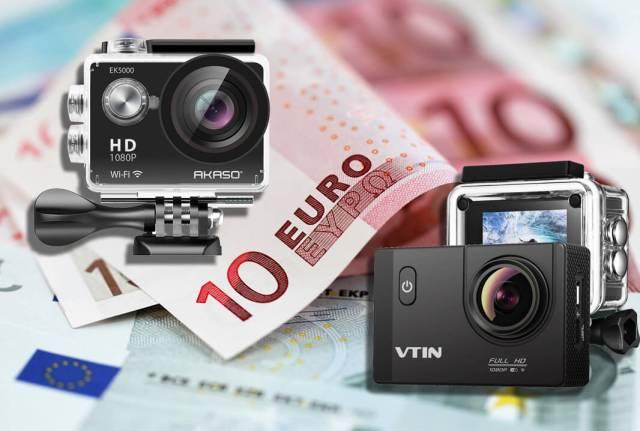 cámaras de acción más vendidas