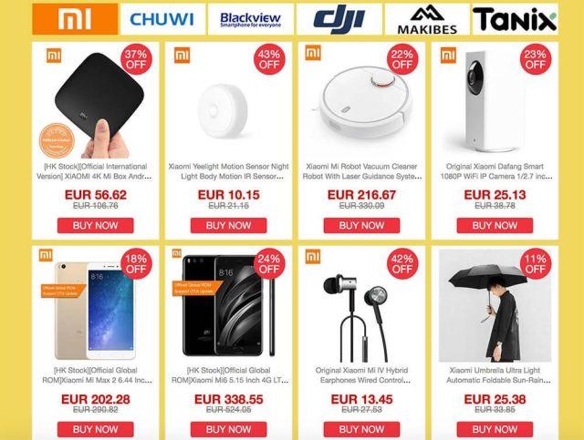 fall sale geekbuying marcas descuentos