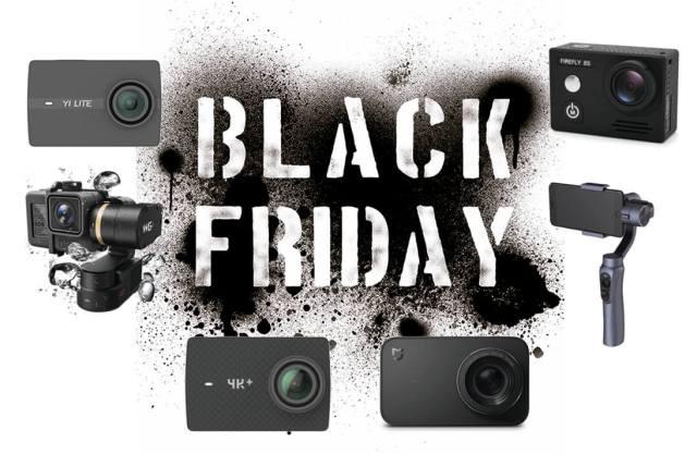 ofertas black friday cámaras deportivas