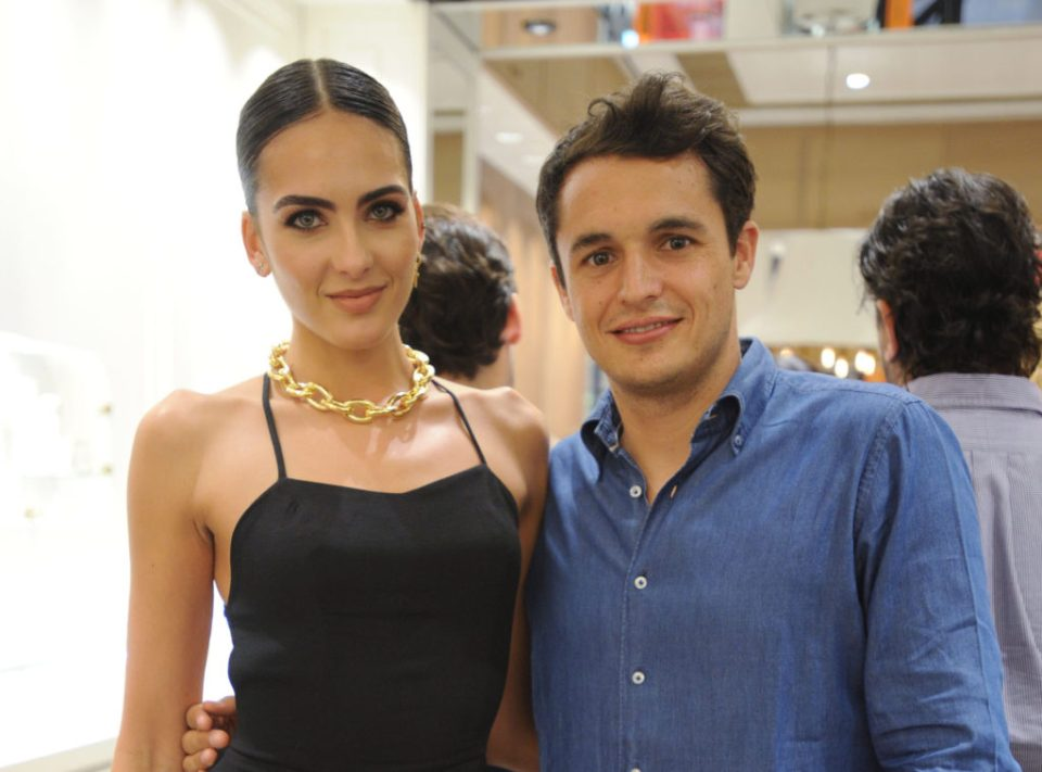 Juan Suarez, Aristocrazy Creative Director with Daniela Botero