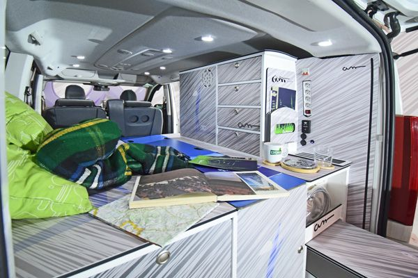 citroen jumpy camper glamping and glampers california