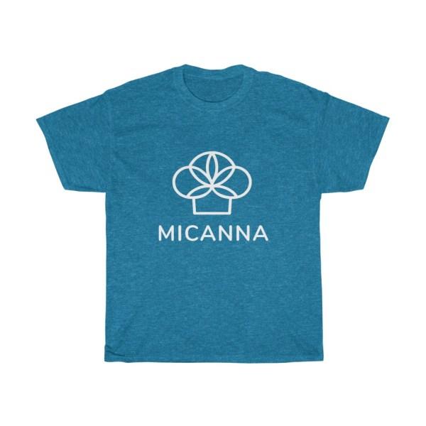 Blue Micanna Heavy Cotton Tee