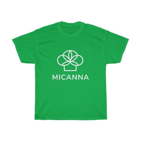 Green Micanna Heavy Cotton Tee