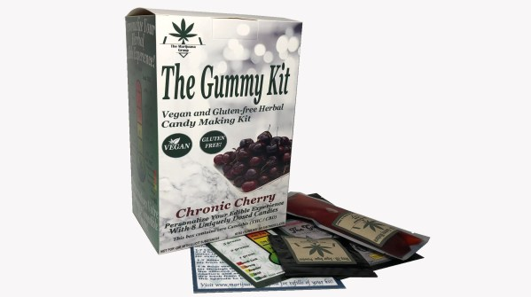 Micanna Cherry Gummy Weed Edibles Kit