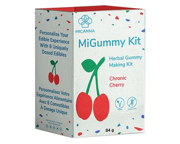 Micanna Cherry Gummy Cannabis Edibles Kit