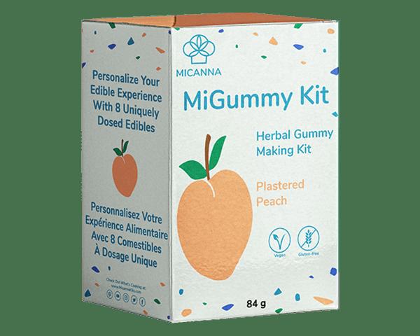 Micanna Peach Gummy Cannabis Edibles Kit