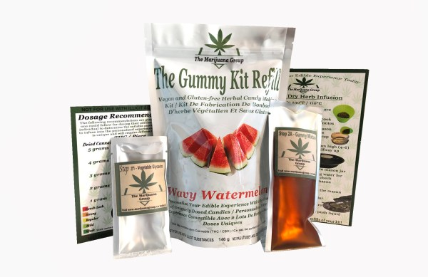 Watermelon Weed Edible Kit Refill