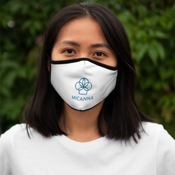 Women wearing Micanna Fitted Polyester Face Mask