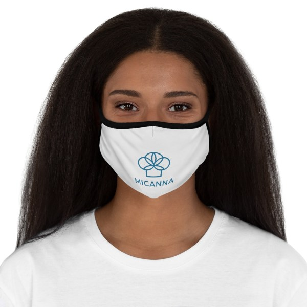 Micanna Fitted Polyester Face Mask on women