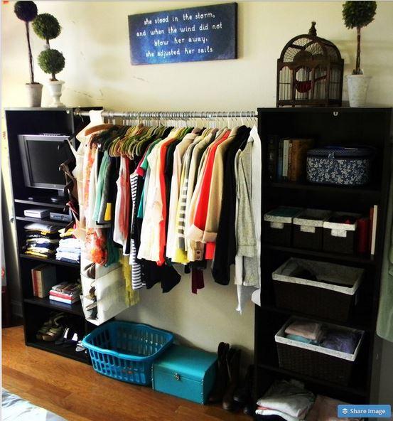 15 Ideas Para Organizar Tu Ropa Cuando No Tienes Clset