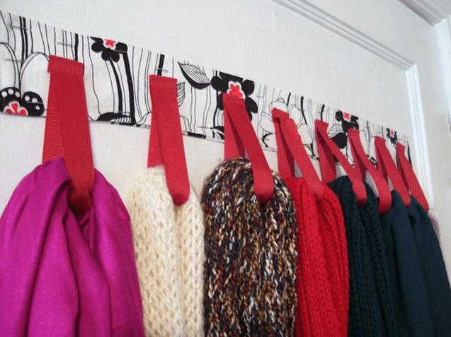 Cmo Organizar Bufandas Y Pashminas 13 Ideas Mi Casa