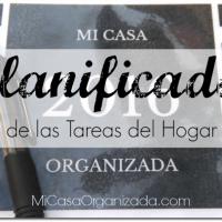 Planificador de Tareas del Hogar 2016 - AL FIN!!