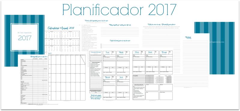 planificador de tareas del hogar 2017 mi casa organizada