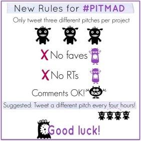 #PitMad Rules by Claribel Ortega