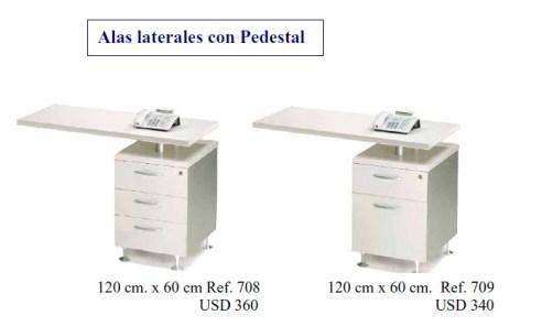 basic ala con pedestal