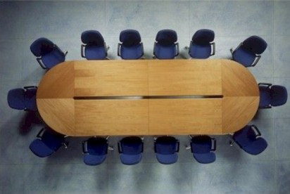 mesa de reunion modulada