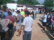 todos recibieron apoyo material y comida