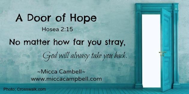 Hoseas Door... While We Wait