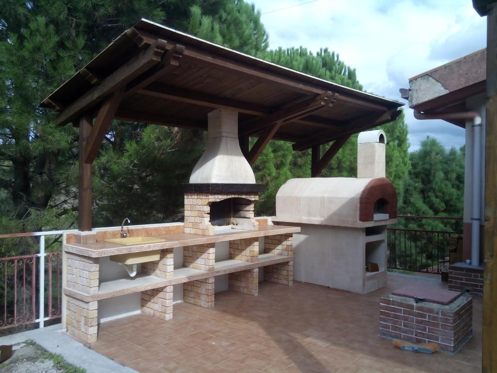 Cucina Esterna | Beautiful Cucina Da Esterno Con Barbecue Gallery Ideas
