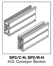 Conveyor Profile, Hardware and Guides « Micco Lucent