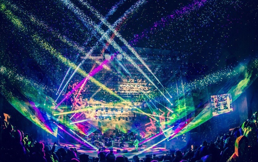 The Disco Biscuits make it clear early on that they weren't messing around at this years annual Bisco Inferno in Denver, Colorado.