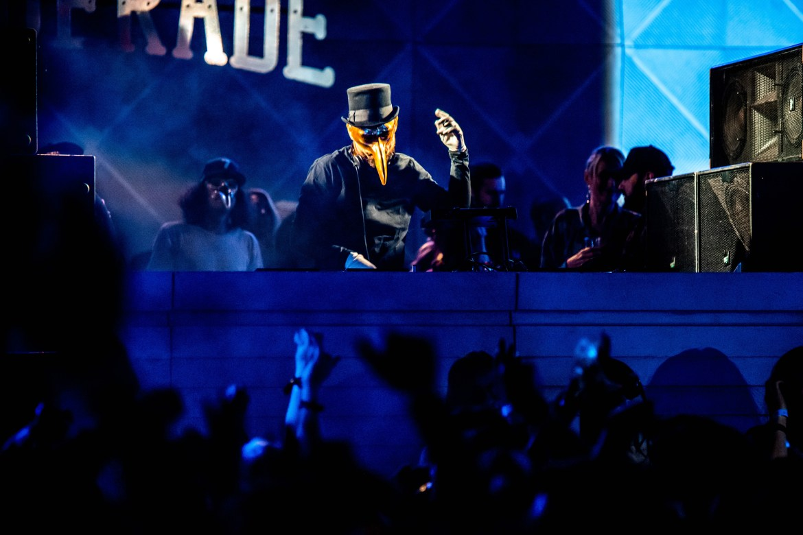 Claptone's Lavish Masquerade Ball Blows Brooklyn Away