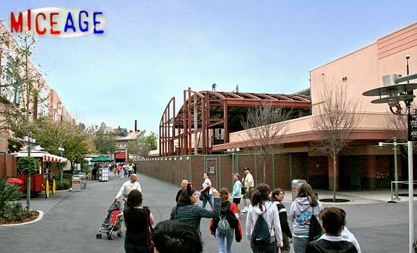 Opening of Pixar Place
