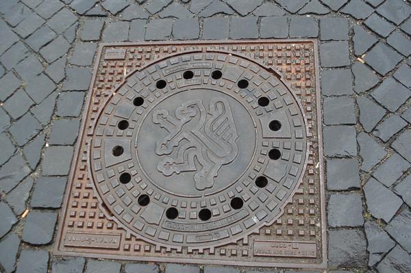 Kanaldeckel Braunschweig