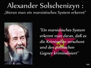 Solschenizyn und Marxismus