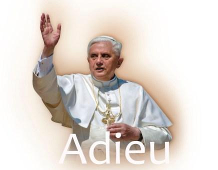 Papst adieu