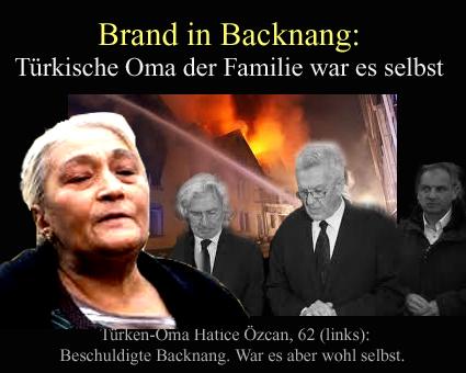 Brand Backnang
