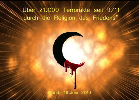 Terrorreligion Islam