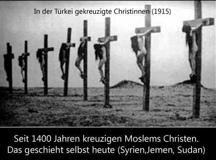 Kreuzigungen durch den Islam