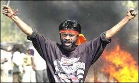 Muslime gegen Hindus