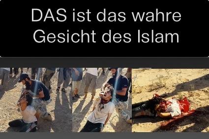 Das wahre Gesicht des Islam: Bilder des Grauens aus dem Irak