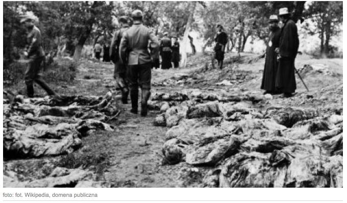 II.světová válka Vinnice , hromadné hroby ,obět NKVD
