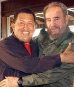 Hugo Chavez+Fidel Castro