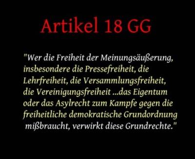 Art 18 GG