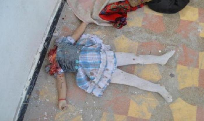 Irak: Christenkinder von IS-Truppen Kopf abgeschnitten, dann in Teile zerhackt - weil sie nicht zum Islam konvertieren wollten. Medien und Moslems schweigen dies tot