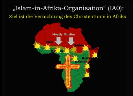 Afrikas Muslime beschliessen Vernichtung der Christen