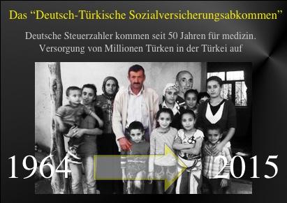 Das Milliarden-Tabu: Seit 50 Jahren kommen deutsche Steuerzahlerfür medizinische Versorgung von Millionen Türken in der Türkei auf