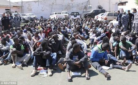 Bootsfluechtlinge Libyen
