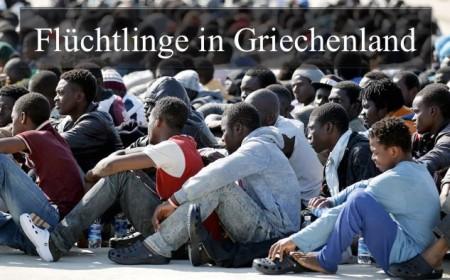 Fluechtlinge in Griechenland