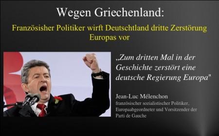 Franzose D zerstoert EU